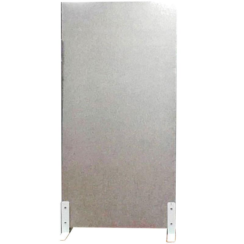 【代引不可】【パネルのみ】硬質吸音フェルト パーテーション フェルメノン EX-15090PT グレー スタンダード 900x1500x24mm DORIX Lク