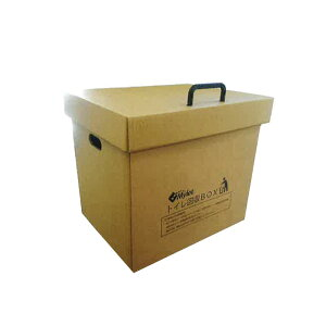 【代引不可】ダンボールボックス トイレ回収BOX 組立式 マイレット 290x310x410 PP 災害 緊急 アウトドア 簡易トイレ Mylet コT
