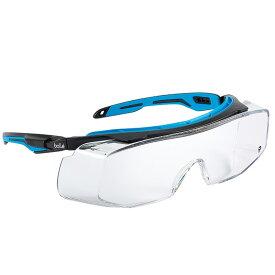 保護メガネ トライオン フリーサイズ TRYOTGPSI 眼鏡の上から クリアレンズ 現場 工事 bolle A工 D