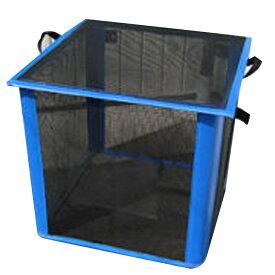 ゴミ枠ステーション 黒 GS-B-340 70x70x70 約340L カラス対策 折って畳んでコンパクト アイベックス 共B 代引不可 個人宅配送不可