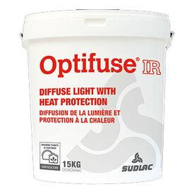 ビニールハウス用 太陽光拡散剤 熱保護 オプティフューズIR 15kg 温室用塗料 99%自然分解 ヨーロッパ SUDELAC カ施 代引不可