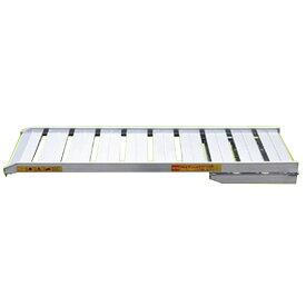 小型機械用 幅広 アルミブリッジ 横折型 SHAW210-50-0.3 1本 折りたたみ式 北別 SHOWA アルインコ 代引不可 個人宅配送不可