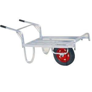 運搬車 コン助 アルミ製 平形一輪車 CN-45D ストッパー伸縮タイプ ハラックス 防J 代引不可 個人宅配送不可 離島配送不可