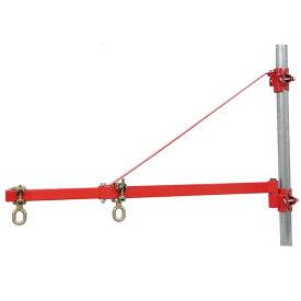 パイプマウント ジブクレーン PMJ 定格荷重160-250kg 旋回角度180度 単管パイプ別売り 48.6専用 HHH 代引不可