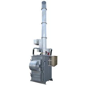 焼却炉 耐火材式 廃プラ対応 SPZ-400J 大型投入口タイプ 消煙 集塵機能 運賃取付費込価格 届け出不要 税制優遇適用可能 DAITO 金T 代引不可 個人宅配送不可