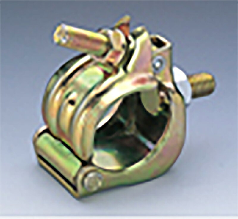 【50個】 ボルト付 単クランプ 48.6 1/2ボルト L 28mm マルサ アミD