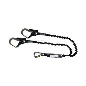 フレックスツインランヤード スチールフック 170cm ツインタイプ TWNHLY170V ハーネス用 ロープアクセス 高所 作業 吊具 安全 現場 TOWA 代引不可