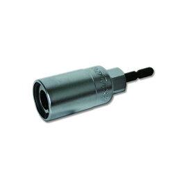 DOGYU 六角対応ロータリーソケット 02763 2分5厘 M8対応 3分兼用 全ネジ・ナット回しが簡単&スピーディー 先端工具 ソケット 土牛産業 三冨D