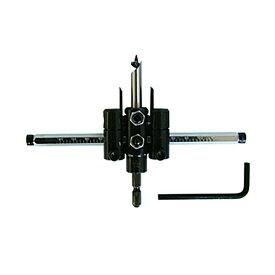 STAR-M No.36X 充電ドリル用 自在錐 セット 30×120mm 六角軸6.35mm 薄板・石膏ボードの穴あけに インパクトドライバ対応の自在錐 スターエム 三冨D
