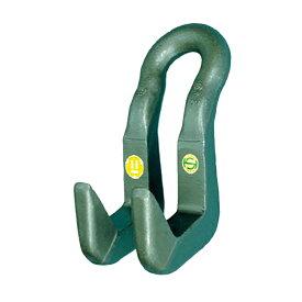 【代引不可】三木ネツレン ハッカー 吊フック DL型 DL1 使用荷重1t 厚さT(max)40mm 軽量で長期に使用が可能 コT