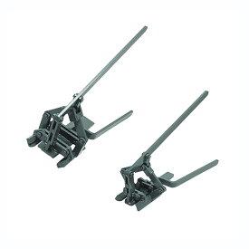 屋根用板金機器 瓦棒ヒサシガチャ35 1号機・2号機セット 働き幅 135mm GCHG-3500 盛光 アミ 代引不可
