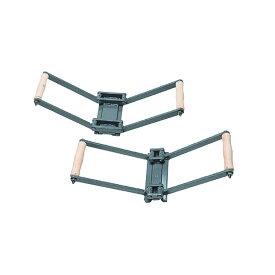 屋根用板金機器 瓦棒ミニガチャ35 1号機・2号機セット 働き幅 200mm GCMG-3500 盛光 アミ 代引不可