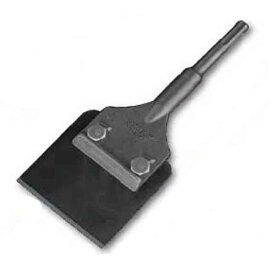 Mokuba モクバ 電動ハンマー用 先端工具 B-69 SDS-plus 快速スクレーパー 片刃 80×15×205mm PULS軸 [Pタイル、付着物の除去 サビ取などに最適]三富D