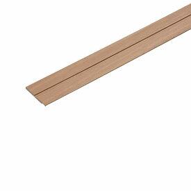 腰壁パネル用 幅木 2本入 見切り兼用 PJ-WPH18-2 DW ダークウォールナット 50x4.5x1820mm 1間用 ラクラク施工 城東テクノ アミ 代引不可