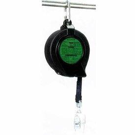 転落防止 スターブロック ST-12H 台付ロープ付き 使用荷重 30-120kg 自動巻き取り 親綱 命綱 エバー商会 コT 代引不可