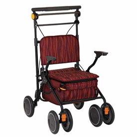 シルバーカー 歩行 補助 カート カゴノアL スタンダードタイプ レッド SLT08 高齢者 幸和製作所 金TD