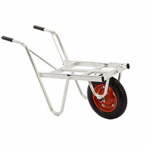 アルミ 一輪車 カーリー YT-1 3台セット コンテナ 1個積 林業 園芸 現場 造園 HONKO 代引不可 個人宅配送不可