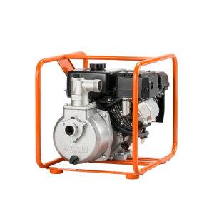 ハイデルスポンプ SEM-40GB 4サイクルエンジン 三菱GB13G 全揚程34m 最大吐出量350L/分 重量27.1kg 工進 KOSHIN エンジンポンプ 洗浄 シB 代引不可
