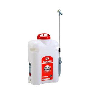 乾電池式噴霧器 除草名人 JS-10 容量10L 重量3kg 除草剤専用 専用シャワ一頭口付 工進 KOSHIN 背負式 除草 散布 シB 代引不可