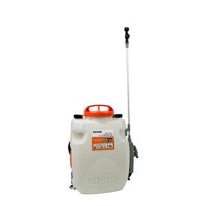 充電式噴霧器 SLS-10 容量10L 縦型二頭口 / カバー付泡状除草噴口 重量3.5kg 工進 KOSHIN 背負式 除草 消毒 散布 シB 代引不可