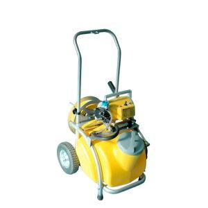 電動噴霧器 ガーデンスプレーヤー MS-252RT25 25Lタンク + キャリー付 250W ノズル長さ54cm 重量23.5kg 工進 KOSHIN 消毒 除草 散布 シB 代引不可