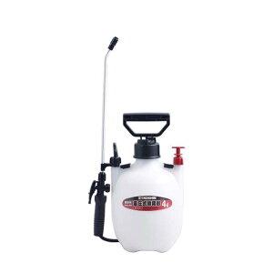 蓄圧式噴霧器 ミスターオート HS-401E 容量4L 1段1頭口 ノズル長38cm 重量1.0kg 工進 KOSHIN 消毒 散布 シB 代引不可