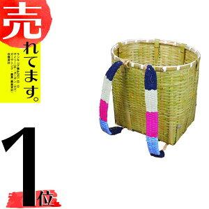 竹製 背負いかご 丸型 大 ワイド 広口 背負いカゴ 背負い籠 収穫 山菜かご 山菜採り きのこ 渋YD