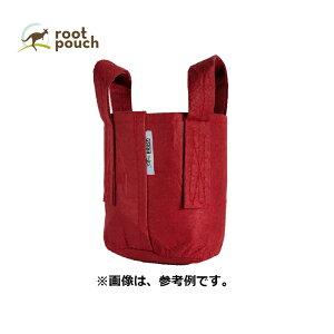 ルーツポーチ Root Pouch #1 Red 持手あり W15cm H19cm 約 3.8L 非生分解性タイプ 不織布 鉢 植木鉢 おしゃれ お洒落 オシャレ 三冨D