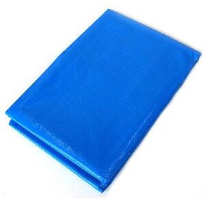 80枚 ブルーシート #3000 ファミリーシート 3.6 × 3.6 m ブルー 萩原工業製 国産日本製 ツ化 代引不可
