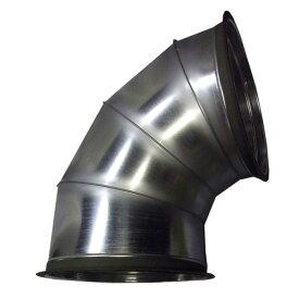 【大型配送】乾燥機用 直径 排塵90度エルボ 静岡製機用 直径 580×H880×W770mm フランジ付 HワH