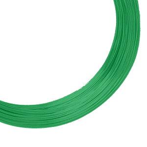 針金 カラー 鉄線 緑 グリーン 10kg ♯8 太さ 4mm × 140m ホームワイヤー 吉KD