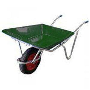 離島配送不可 大型配送 アルミ 一輪車 ネコ (農業用 園芸用) 2才積 浅型 シN直送