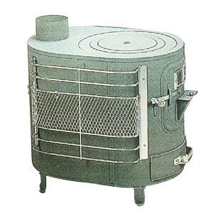 薪 ストーブ ファインヒーター A型 煙突直径106cm 安全ガード付 アMD