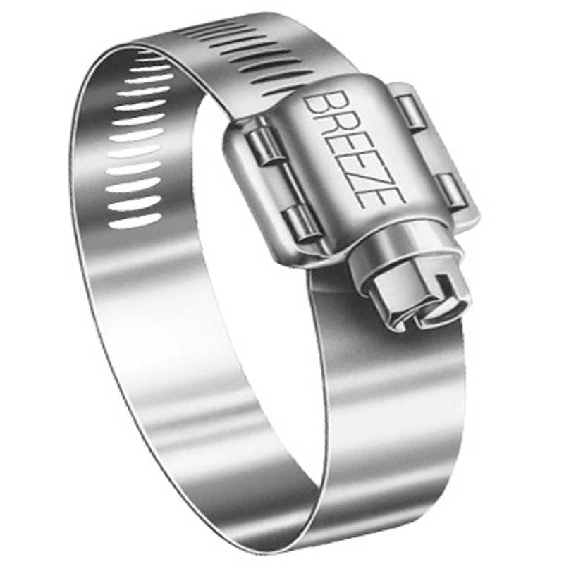 BREEZE ステンレスホースバンド 汎用 締付径 65〜89mm 【62048】 シバD