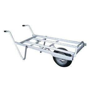離島配送不可 大型配送 アルミ 平型一輪車 ネコ - コンテナ3個載せ用 シN直送