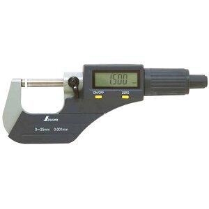 デジタルマイクロメーター 0~25mm [ 79523 ] シンワ測定H