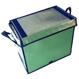 【5箱】 折り畳み式 軽トラ 用 極厚 長時間 保冷 ボックス KTB-RF-Z 容量75L 軽トラック クーラー バッグ サンユー印刷 D