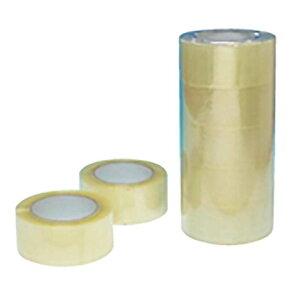 100巻 OPPテープ 48mm×100m 43ミクロン 梱包用 透明テープ シN直送