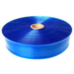 潅水チューブ 青 両面穴 チドリ穴 0.2mm×50mm×100m タイレン 大豊化学DNZ