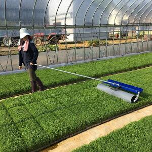 育苗転圧ローラー TR-1000 健苗 苗踏みローラー 水稲 の 密播 密苗 疎植 の 育苗 に ケーエス製販 代引不可