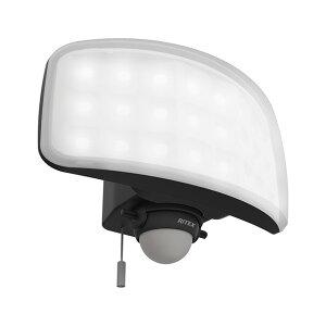 納期2週間程度 ムサシ RITEX 27W ワイド フリーアーム式 LEDセンサーライト LED-AC1027 防犯ライト 屋内 屋外 用 福KD