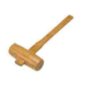 木槌 直径48mm 樫の木 国産 木づち 鏡割 鏡開き 木製 日本製 カシ 47057 小柳産業 H