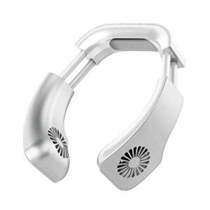 【ホワイト】USB ハイブリッド ネッククーラー 首掛けクーラー...