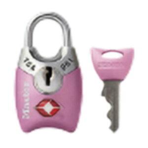 マスターロック TSAロック シリンダー式 ピンク 4689JADPNK TSA ロック 鍵 防犯 旅行 Master Lock アMD