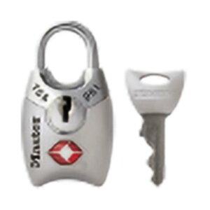 マスターロック TSAロック シリンダー式 シルバー 4689JADSLV TSA ロック 鍵 防犯 旅行 Master Lock アMD