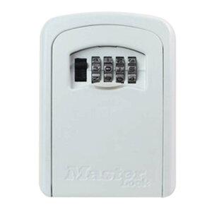 4個入 マスターロック ダイヤル式 キーセーフ クリーム 5401JADCRM キーボックス 壁取り付けタイプ 防犯 Master Lock アMD