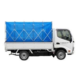 折りたたみ式 もみがらコンテナ 普通トラック用 6反 HA-280N ネットタイプ 折畳み式 もみ殻コンテナ 籾殻 イガラシ機械工業 オK 代引不可
