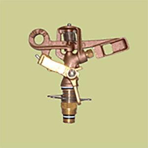 [個人宅配送不可] 高耐久 金属 (農業用 緑化用) スプリンクラー 小型(S) 25-P4 口径 4.8 mm 1/2PT 20度 共立イリゲート 防J[代引不可]