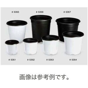 北海道配送不可 2700個 #5351 BNポット 90 白 外径65mm 高さ84mm 園芸 プラスチックポット 鉢 明和 明W 代引不可