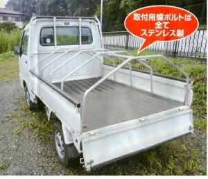 アルミフレーム軽トラ幌AKT-5型軽トラックの荷台の雪・雨対策に!簡易テントセット